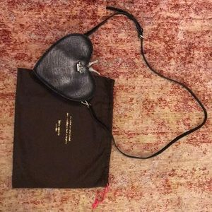 Kate Spade Black Heart Crossbody (New with tags)
